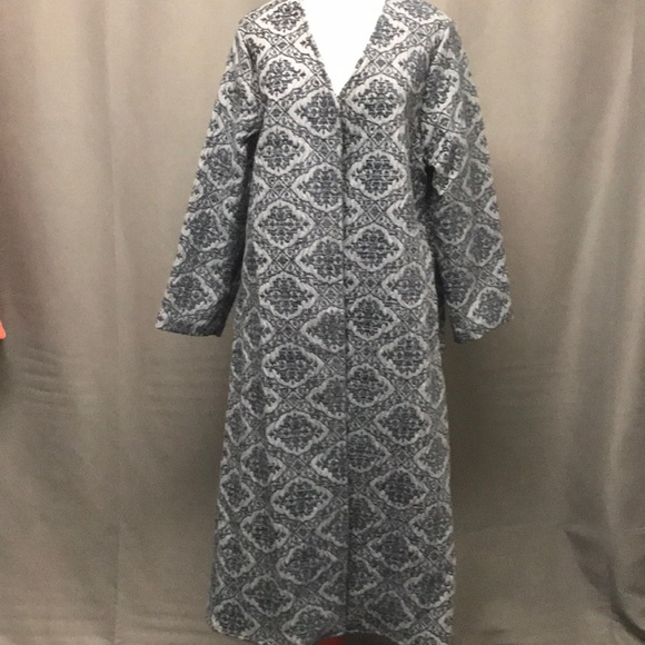 Vintage Jackets & Blazers - Long tapestry print duster jacket